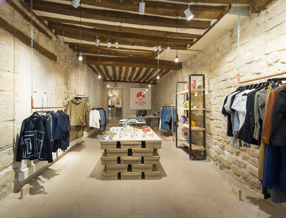 BEAMS Pop-Up Store