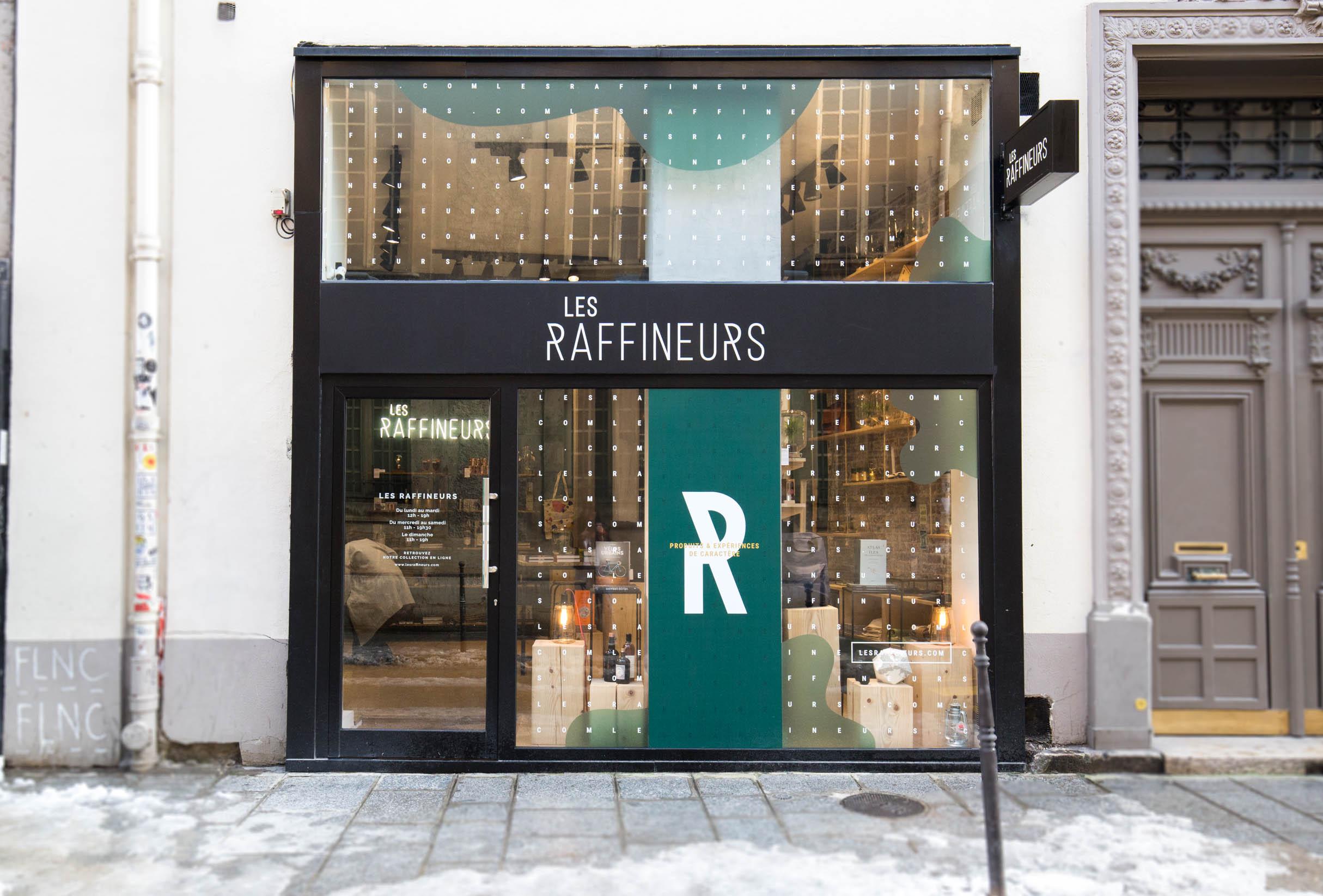 pop up store prolong succ s confirm la belle histoire des raffineurs. Black Bedroom Furniture Sets. Home Design Ideas