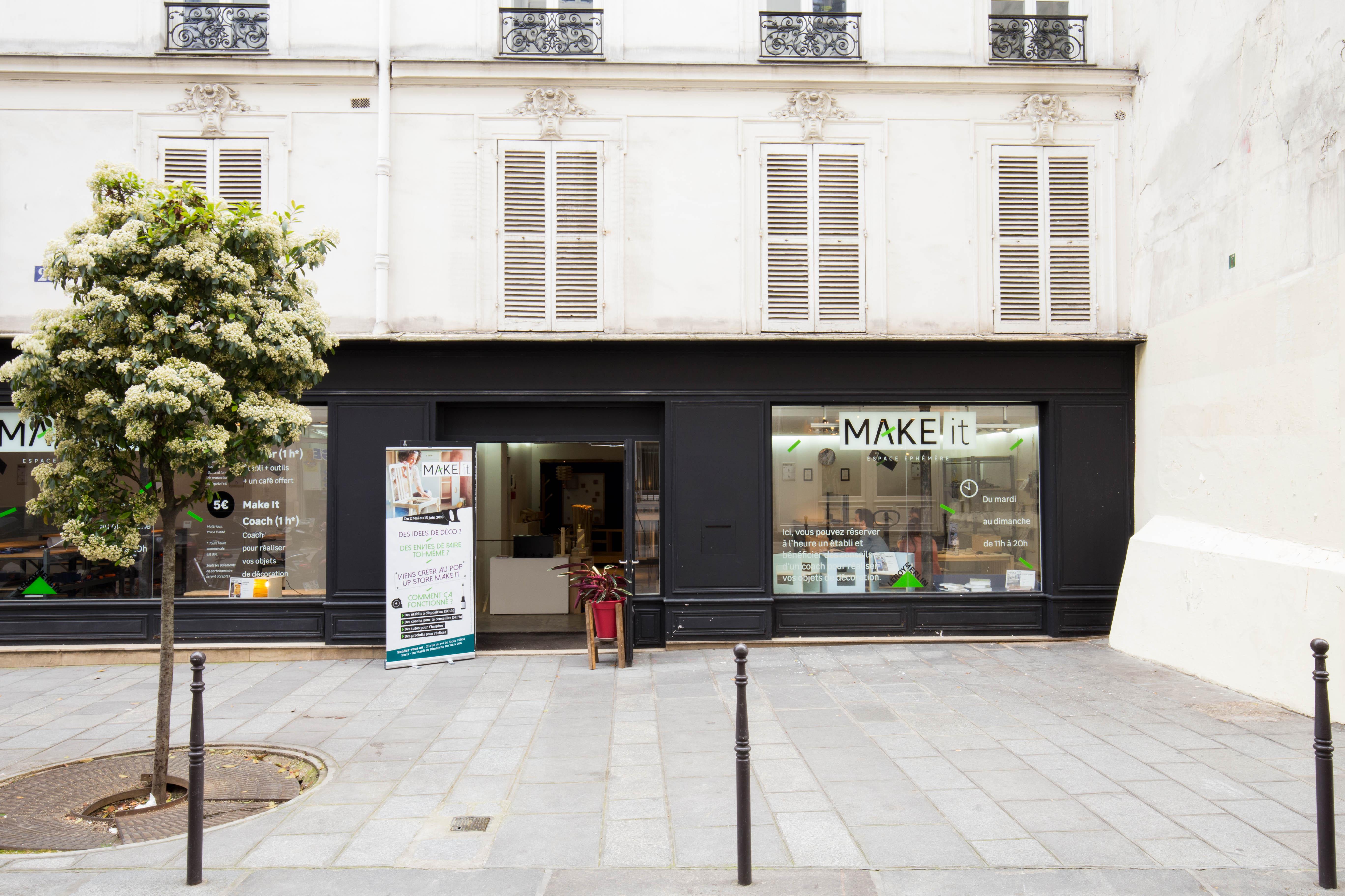 leroy merlin un pop up store pour conqu rir une nouvelle cible storefront blog. Black Bedroom Furniture Sets. Home Design Ideas