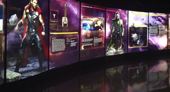 Experiential retail Marvel's Avengers